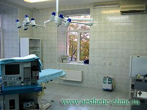 Операционная Клиники эстетической хирургии и косметологии